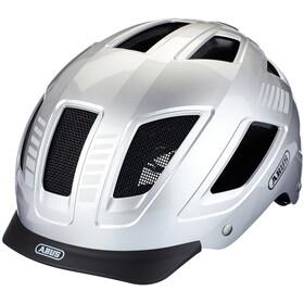 ABUS Hyban 2.0 Signal Helmet signal silver